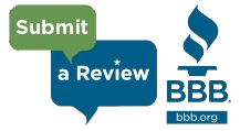 Submit a Better Business Bureau review!